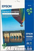 Бумага Epson A4 Premium Semigloss Photo Paper, 20л. (C13S041332)