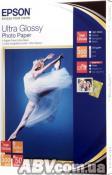 Бумага Epson 130mmx180mm Ultra Glossy Photo Paper, 50л. (C13S041944)