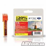 Картридж Jet Tec CANON BCI-3/BCI-6 Yellow (110C000604)