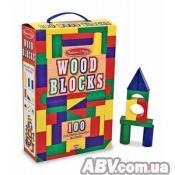 Кубики Melissa&Doug 100 деревянных кубиков (MD481)