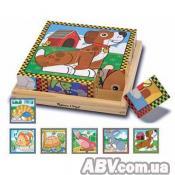 Кубики Melissa&Doug Домашние животные (MD3771)