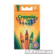 Набор для творчества Crayola 8 разноцветных стандартных восковых мелков (8)