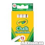 Набор для творчества Crayola 12 белых мелков (280)