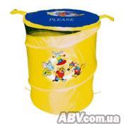 Ящик для игрушек DEVIK play joy желтая (TO303A)
