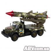 Спецтехника Технопарк ЗИЛ-131 Вооруженные силы с ракетой (CT10-001-R/3)