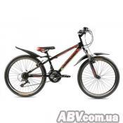 """Велосипед Premier Pirate 24 11"""" RS35 черный с красным-зеленым-белым (14306)"""
