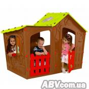 Игровой домик Keter Magic Villa Play house Terracotta (17190655514)