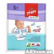 Нагрудничек Bella Baby Happy Lunch 5 шт (5900516650889)