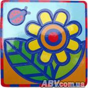 Конструктор Умная бумага Пиктограмма Цветок (166-12)