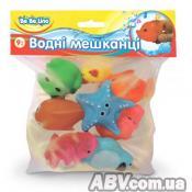 Игрушка для ванной BeBeLino Водные жители (57066)