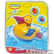 Игрушка для ванной BeBeLino Плавающая птица-рыболов, Пеликан (57035-2)