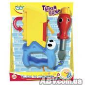 Развивающая игрушка BeBeLino Пила с синей ручкой и отвертка (57064-2)