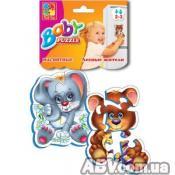 Купить Пазл Vladi Toys Лесные жители (VT3208-03)