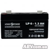 Батарея к ИБП LogicPower LPM 6В 1.3 Ач (4157)