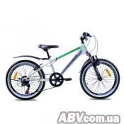 """Велосипед Premier Dragon20 2016 11"""" белый с синим и зелёным (ЦБ0000354)"""