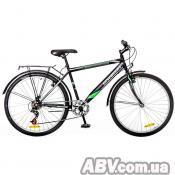 "Велосипед Discovery 26"" PRESTIGE MAN 14G Vbr St черно-серо-зеленый 2016 (OPS-DIS-26-030-1)"