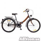 """Велосипед Дорожник 20"""" SMART 14G St серый с оранжевым 2016 (OPS-D-20-010-1)"""