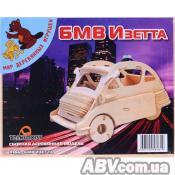 Сборная модель Мир деревянных игрушек BMW Izetta (П146)