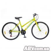 "Велосипед Discovery 26"" PASSION 14G Vbr 16"" St зелено-белый 2017 (OPS-DIS-26-066)"