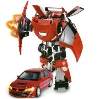 Купить Roadbot - Робот-трансформер - MITSUBISHI EVOLUTION VIII (1:18)