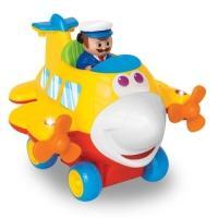 Купить Kiddieland - preschool - Развивающая игрушка - ВЕСЕЛЫЙ САМОЛЕТИК (на колесах, свет, звук)