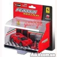 Купить Bburago - Игровой набор - FERRARI F50 (автомодель, аксессуары )