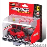 Купить Bburago - Игровой набор - FERRARI CALIFORNIA (автомодель, аксессуары)