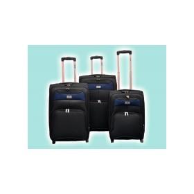 Дорожная сумка HILTON 5027 HLD 20-24-28 black-blue