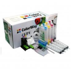 СНПЧ ColorWay HP №121/122+демпфер (NEW) (H121CN-0.0NC)