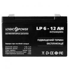 Батарея к ИБП LogicPower 6В 12 Ач (2572)