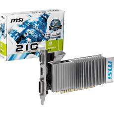 Видеокарта GeForce 210 512Mb TC-1Gb MSI (N210-TC1GD3H/LP)