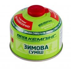Газовый балон КЕМПІНГ H230 (4820152613967)