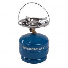 Газовый балон КЕМПІНГ перезаправляемый с горелкой (4823082701421)