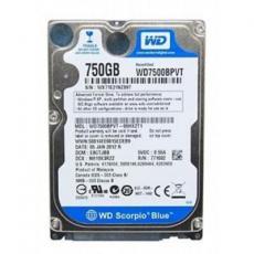 "Жесткий диск для ноутбука 2.5"" 750GB Western Digital (WD7500LPCX)"