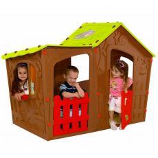 Игровой домик Keter Magic Villa Play house Terracotta (17190655514)