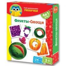 Настольная игра Vladi Toys Фрукты-овощи (рус.) (VT1306-06-2)