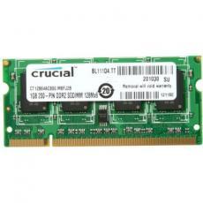 Модуль памяти для ноутбука SoDIMM DDR2 1GB 800 MHz MICRON (CT12864AC800)