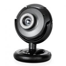 Веб-камера REAL-EL FC-120, black