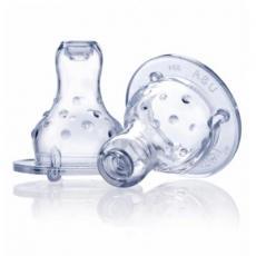 Соска Nuby Мультипоток, непроливайка, антиколиковая, 0м+, 2 шт (921)