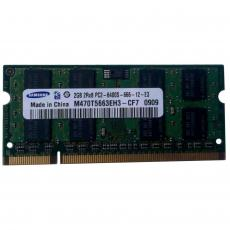 Модуль памяти для ноутбука SoDIMM DDR2 2GB 800 MHz Samsung (M470T5663EH3-CF7)