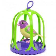Интерактивная игрушка DIGIBIRDS Бриз в большой клетке (88024-3)