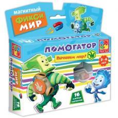 Настольная игра Vladi Toys Фиксики Помогатор 16 магнитов (VT3102-01)