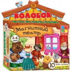 Настольная игра Vladi Toys Магнитный театр Колобок (VT3206-09)
