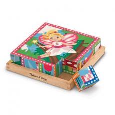 Кубики Melissa&Doug Принцессы и феи (MD19040)