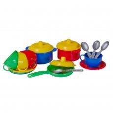Игрушка для песка Технок посуда Маринка в сетке (2209)