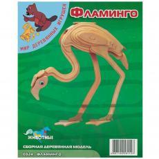 Сборная модель Мир деревянных игрушек Фламинго (Е024)