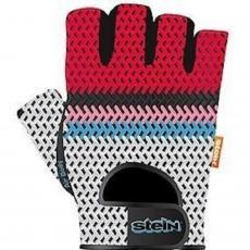 Перчатки для фитнеса Stein AirBody GPT-2182 (S) красно-серые (GPT-2182/S)