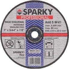 Диск SPARKY отрезной 125x1.2x22.2 абразивный A 60 S по нерж.стали (20009561109)