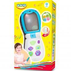 Музыкальная игрушка BeBeLino Телефон с зеркалом (57112)