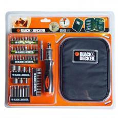 Набор инструментов BLACK&DECKER A7104-XJ 56 предм. (A7104)